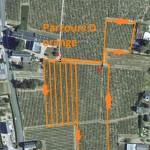 Plan Aerien Course Parcours D Orange Fluo